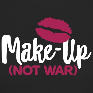Make-up not war T-shirts - Ekologisk T-shirt dam