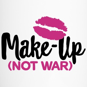 Make-up not war Bouteilles et Tasses - Mug thermos