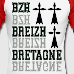 Bretagne Breizh 58.png Manches longues - T-shirt baseball manches longues Homme