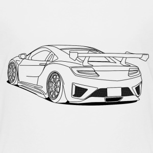 cool car outlines Shirts - Kids' Premium T-Shirt