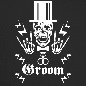68 Skull Groom Cylinder Game Over JGA Party Team Caps & Mützen - Trucker Cap
