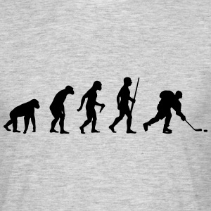 Ice Hockey Evolution - Männer T-Shirt