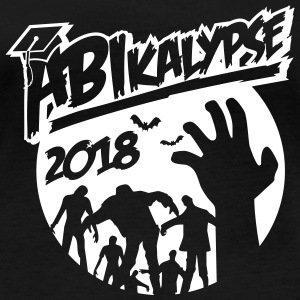 Abikalypse 2018-graduation - ABI - conclusion - zombies Long Sleeve Shirts - Women's Organic Longsleeve Shirt by Stanley & Stella