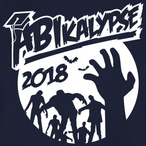 Abikalypse 2018-graduation - ABI - conclusion - zombies T-Shirts - Men's Organic V-Neck T-Shirt by Stanley & Stella