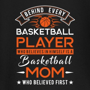 Behind every Basketball player is a Basketball mom Long Sleeve Shirts - Baby Long Sleeve T-Shirt