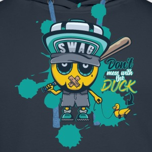 Don't mess with the duck Pullover & Hoodies - Männer Premium Hoodie
