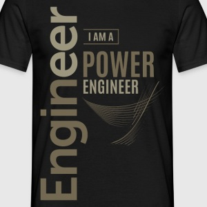 Power Engineer - Men's T-Shirt