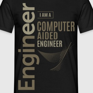 Computer-AIDED Engineer - Men's T-Shirt