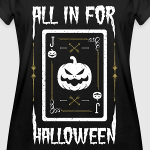 All in for Halloween - Cards Night - Women's Oversize T-Shirt