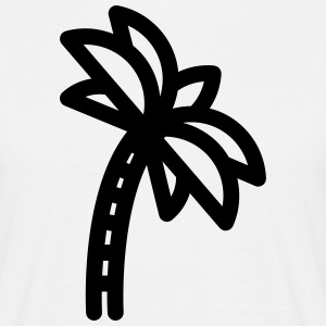 Palm Tree Icon T-Shirts - Men's T-Shirt