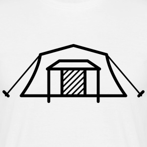 Tent Home Icon T-Shirts - Men's T-Shirt