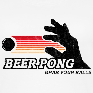 BEER PONG, GRAB YOUR BALLS Tops - Women's Organic Tank Top by Stanley & Stella
