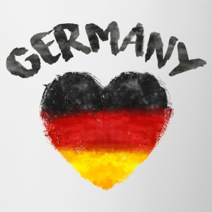 GERMANY HEART WATERCOLOR Mugs & Drinkware - Mug