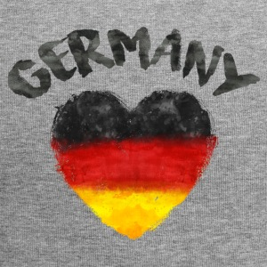 GERMANY HEART WATERCOLOR Caps & Hats - Jersey Beanie