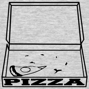 1 piece empty hunger eaten pizza delicious box car T-Shirts - Men's T-Shirt