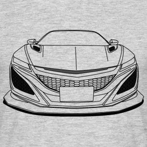 cool jdm car outlines T-Shirts - Men's T-Shirt