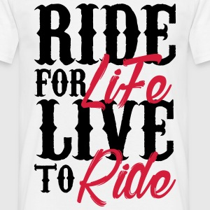 Citations rider Tee shirts - T-shirt Homme