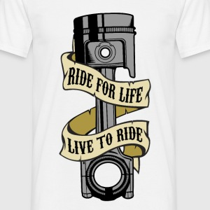 ride life Tee shirts - T-shirt Homme