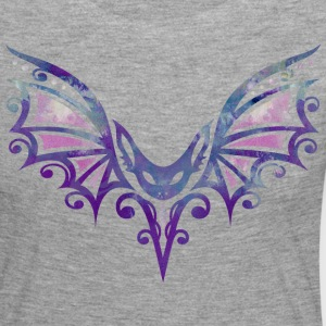 Flying Bat, Tattoo Design. Watercolor, Halloween.  Long Sleeve Shirts - Women's Premium Longsleeve Shirt