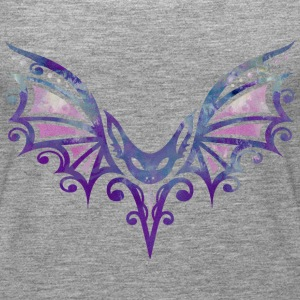 Flying Bat, Tattoo Design. Watercolor, Halloween.  Tops - Women's Premium Tank Top