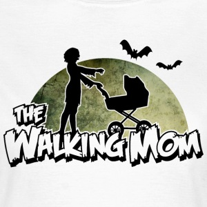 The walking Mom - Zombie Mutter - Halloween - Baby T-shirts - Vrouwen T-shirt