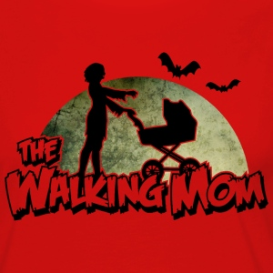 The walking Mom - Zombie Mutter - Halloween - Baby Langarmshirts - Frauen Premium Langarmshirt