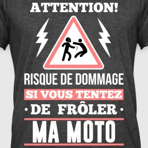 Motard - attention Tee shirts - T-shirt vintage Homme