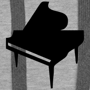 Piano Sweat-shirts - Sweat-shirt à capuche Premium pour femmes