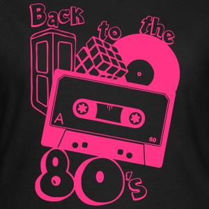 80er , back to the 80s T-Shirts - Frauen T-Shirt