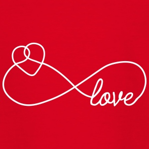 Eternal Love [Liebe Herz] T-Shirts - Kinder T-Shirt