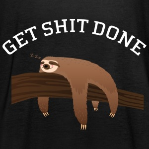 Get Shit Done - Lazy Sloth Tops - Frauen Tank Top von Bella