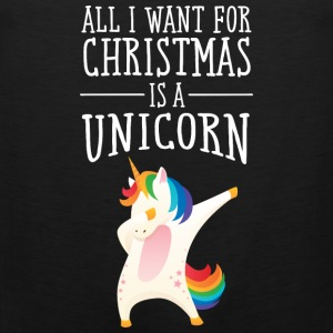 All I Want For Christmas Is A Unicorn Vêtements de sport - Débardeur Premium Homme