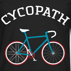Cycopath - Cool Gift Design For A Cyclist Long sleeve shirts - Men's Premium Longsleeve Shirt