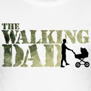 The walking Dad - Zombie - Papa -Humor-Baby-Vater T-Shirts - Men's Slim Fit T-Shirt