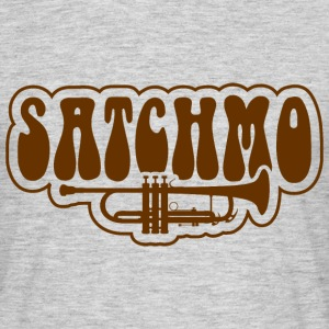 Satchmo Trumpet - Men's T-Shirt