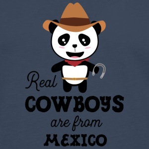Real Cowboys are from Mexico Gift Long sleeve shirts - Men's Premium Longsleeve Shirt