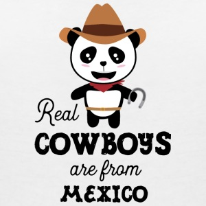 Real Cowboys are from Mexico Gift T-Shirts - Women's Organic V-Neck T-Shirt by Stanley & Stella