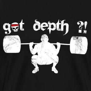 got depth ?! - Männer Premium T-Shirt
