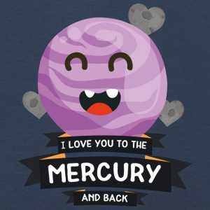 Love you to the Mercury Planet Character Gift Long Sleeve Shirts - Kids' Premium Longsleeve Shirt