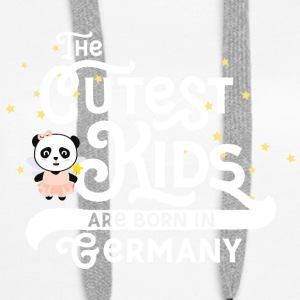 Cutest Kids Panda born in Germany Gift Hoodies & Sweatshirts - Women's Premium Hoodie