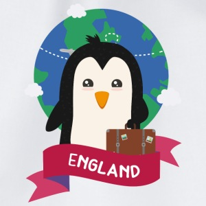 Penguin Globetrotter from England Gift Bags & Backpacks - Drawstring Bag