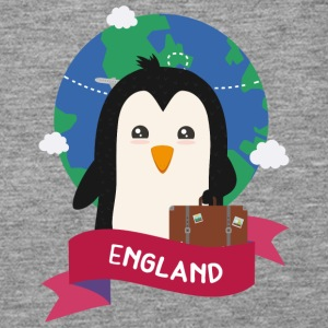 Penguin Globetrotter from England Gift Tops - Frauen Premium Tank Top