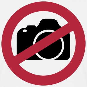 No Photography T-Shirts - Men's T-Shirt
