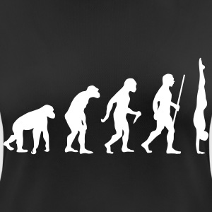 Evolution Handstand - Great Gift Design Idea T-Shirts - Women's Breathable T-Shirt
