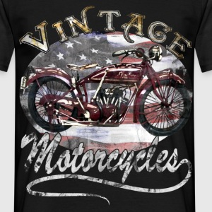 Vintage Motorcycle T-Shirt - Men's T-Shirt