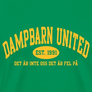 Damp United - Premium-T-shirt herr