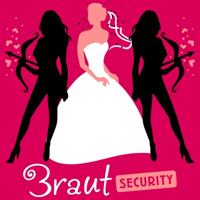 Braut Security 3C T-Shirts
