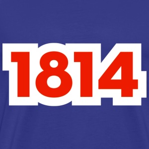1814 - Premium T-skjorte for menn