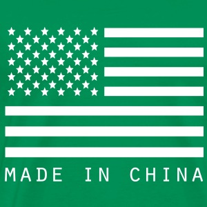 USA Made in China - Men's Premium T-Shirt