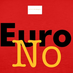 No To Euro No To EU  - Men's Premium T-Shirt